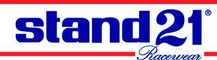 Stand 21 Logo feuerfeste Haube
