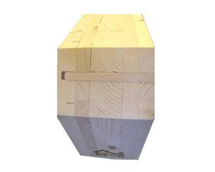 NUR-HOLZ-Element mit Holzschraube