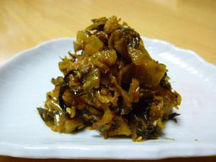 高菜漬、たくあん漬の中津漬物