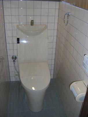 柏市 トイレ取替工事 LIXIL アステオリトイレ