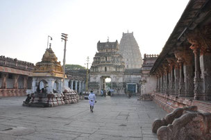 Tempel in Hampi, Indien, 2013