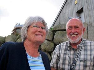 Karl und Linda, seine Frau