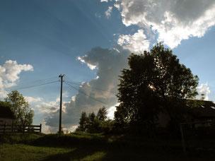 imposante Wolkenstimmungen
