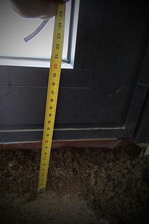 10 cms seront nécessaire pour avoir une chape à la bonne hauteur pour carreler
