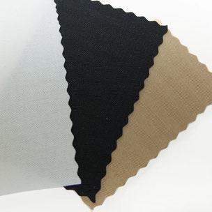 couil noir blanc beige coton