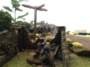 Bolt Action, Gelände, Wargaming, Tabletop Hangar, US Airborne