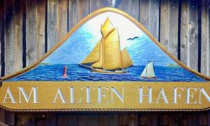 """Bild: Restaurant """"Am alten Hafen"""" in Bodstedt"""