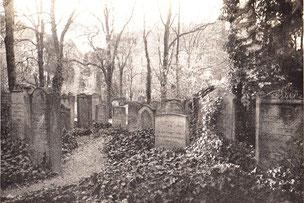 Judenfriedhof in der Teichstraße