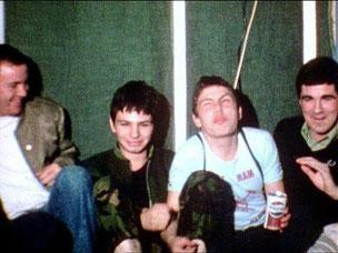 Mick en Jeff met rechts de legendarische Hoxton Tom van The 4-Skins