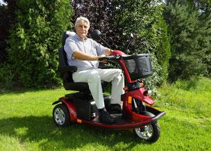 Mobilis Elektromobil M43 mit 3 Rädern bis zu 6km/h