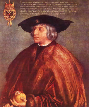 Kaiser Maximilian I, Gemälde von Albrecht Dürer, 1519