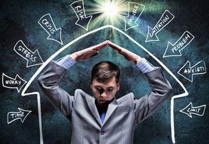 Stressreduktion, Stressbewältigung mit Hypnose und Coaching