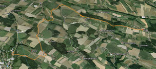 Route Wandertag