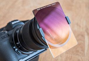 Neuheit: Mini-Filterhalter für Grauverlaufsfilter 75x100 mm von filterfotografie.com, Foto: bonnescape