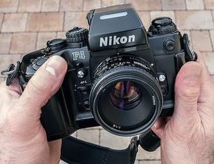 Die Nikon F4 - ein Meilenstein der Kamerageschichte, Copyright 2016 by Klaus Schoerner