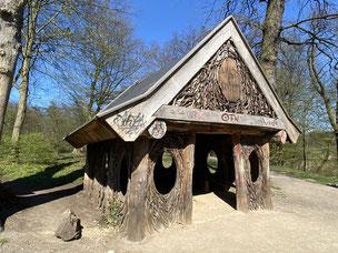 Bild: Das Eierhaus im Jenischpark