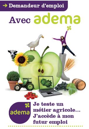 ADEMA - Demandeurs d'Emploi - Formation professionnelle pour adulte - secteur agricole - Reconversion - changer de vie - travailler dehors - plein air