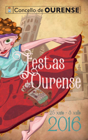 Fiestas en Ourense Festas de Corpus