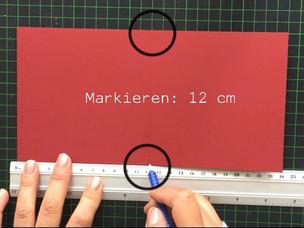 DIY Weihnachtskarten Anleitung