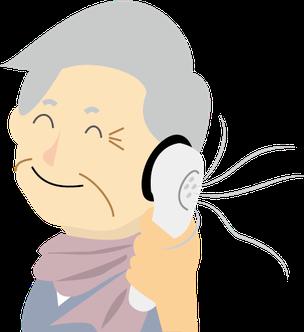 助聴器使用イメージ