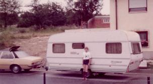 Opel Rekord und Lord Münsterland in den frühen 80ern...