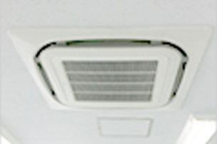 写真:空調設備工事