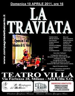 LA TRAVIATA – Milano, 10/04/2011