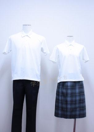 北海道石狩南高等学校 夏制服
