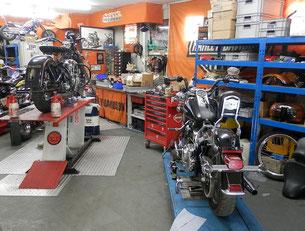 Teufels Bike Works Werkstatt