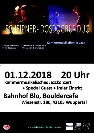 Scheipner-Dosdogru-Duo Rüdiger Scheipner Saxophonist