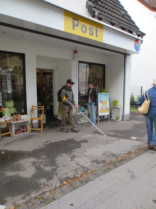 Weg zur Post trainieren