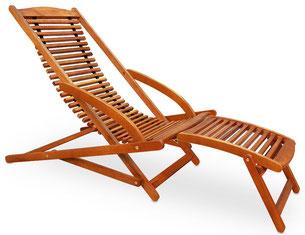 lettino pieghevole +prendisole +legno +outdoor