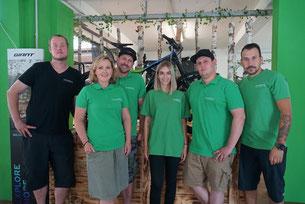 Das Team der e-motion e-Bike Welt Halver
