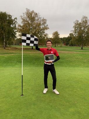Victoire d'Augustin Barbe au Grand Prix du golf des 24h (23-25 oct 2020)