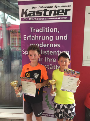 Die Finalisten: Moritz und Dominik