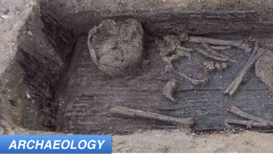 Early English Cemetery May Blend Paganism and Christianity