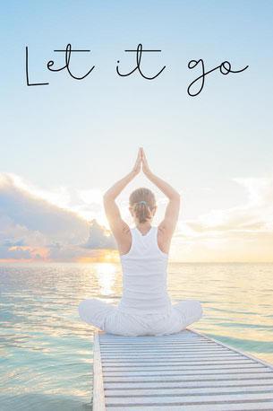 Yoga Grußkarte Cathy Thica Schmuck & Mala Design