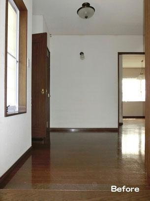 玄関ホール(施工前)