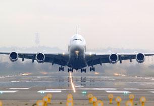 Airbus A380 au décollage