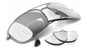 Plakleesdelen voor brillen