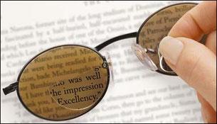 leesdelen voor zonnebrillen