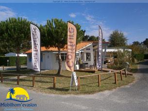 camping les charmettes location mobilhome à la palmyre - Institut de beauté