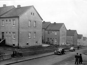 dudweiler, schachtstraße, 1953