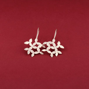 Ohrringe LEAVES von Magdalena Track - Atelier STOSSIMHIMMEL
