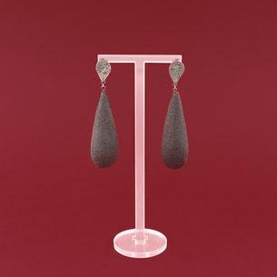 Tropfenförmige Ohrringe von Michelle Kraemer - Atelier STOSSIMHIMMEL