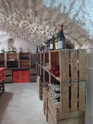 Un grand choix de vins locaux et régionnaux au Coin de Jardin à Robion
