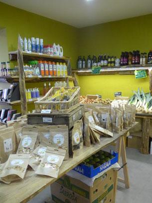 Produits bio, fruits et légumes bio, produits d'entretien bio sur Robion aux portes du Luberon