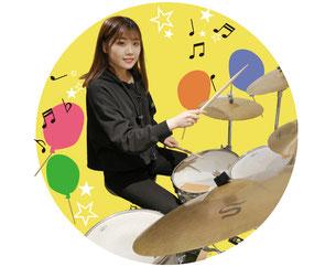ドラム教室の先生 水野裕太
