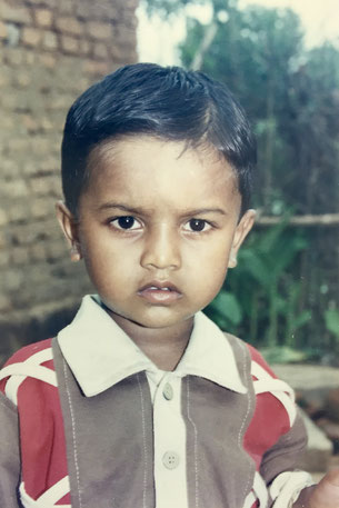 Bhagirath at the age of 3 years (2003)