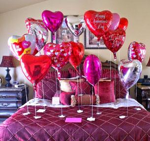 globos 14 de febrero